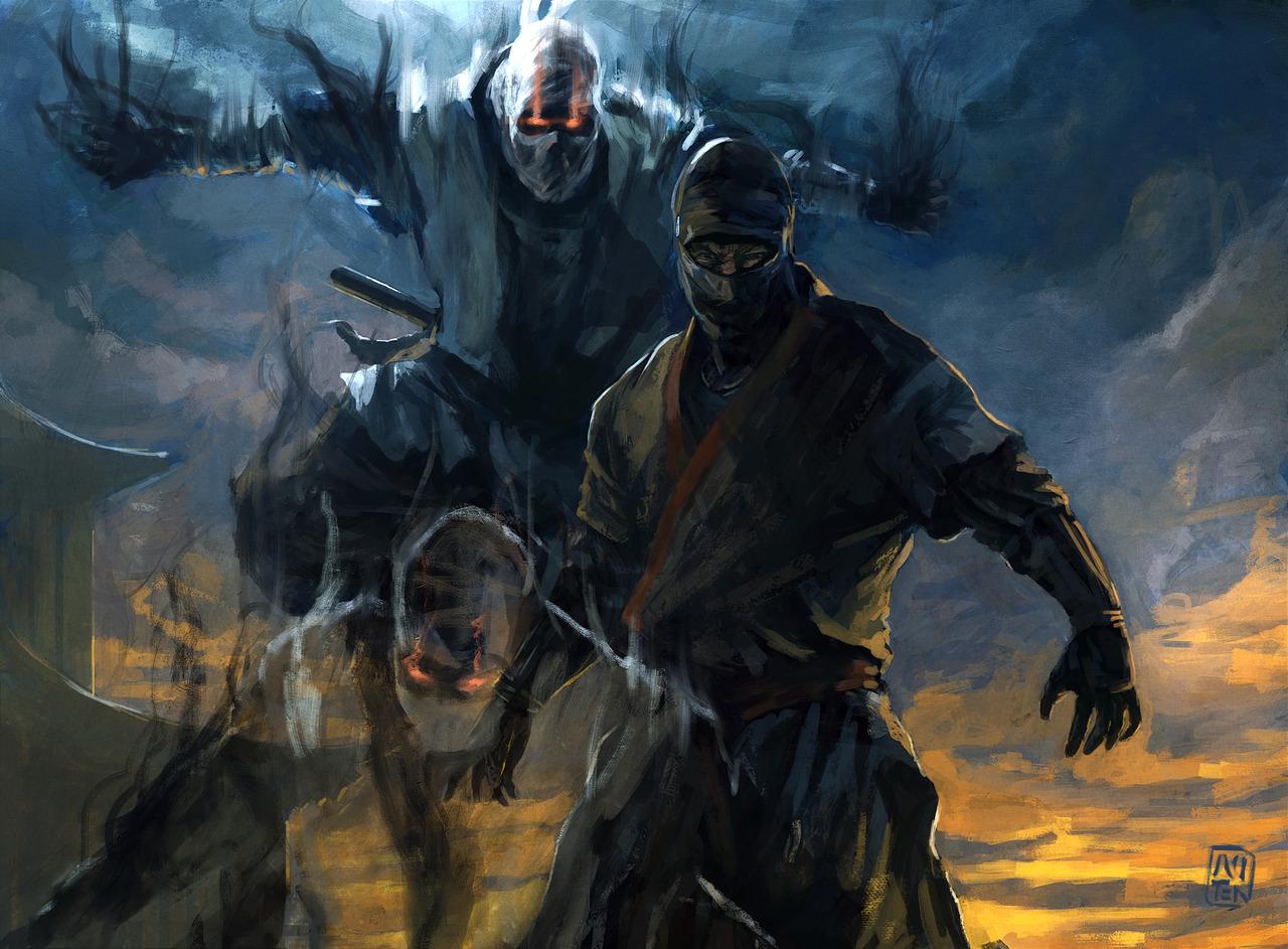 Legend Of The Five Rings Scorpion Ninja