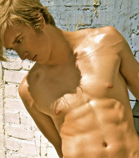 Blonde male models naked absolutely