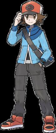 Pokemon M - Capitulo 1 - O inicio da aventura! 180px-Lucho_NB_(Ilustraci%C3%B3n)