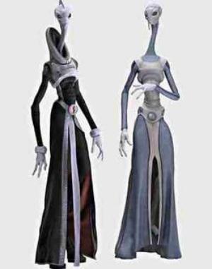 Kaminoan - Alien Species Wiki - Aliens, UFOs, Space aliens