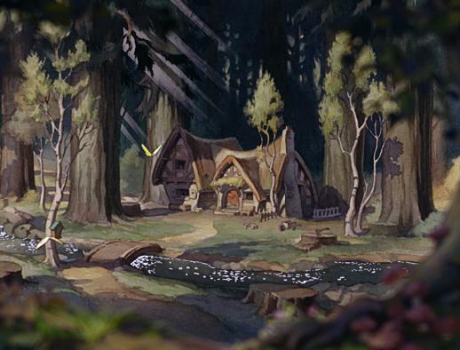 la casa de los siete enanitos disney wiki