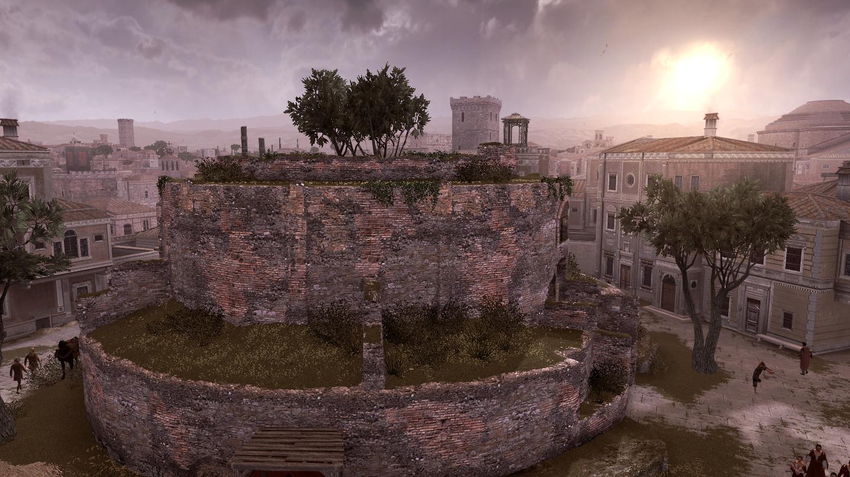 Mausoleo di augusto assassin 39 s creed wiki for Augusto roma