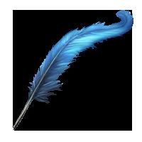 Frà Cipolla e la penna dell'Arcangelo Gabriele. Quill-lrg
