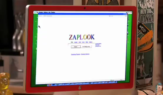up the computer  it s on ZapLook search until Freddie opens a pageZaplook