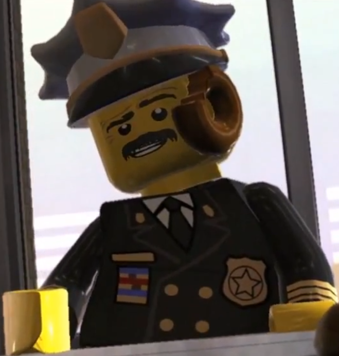 theme city year... Lego City Undercover Chief Dunby