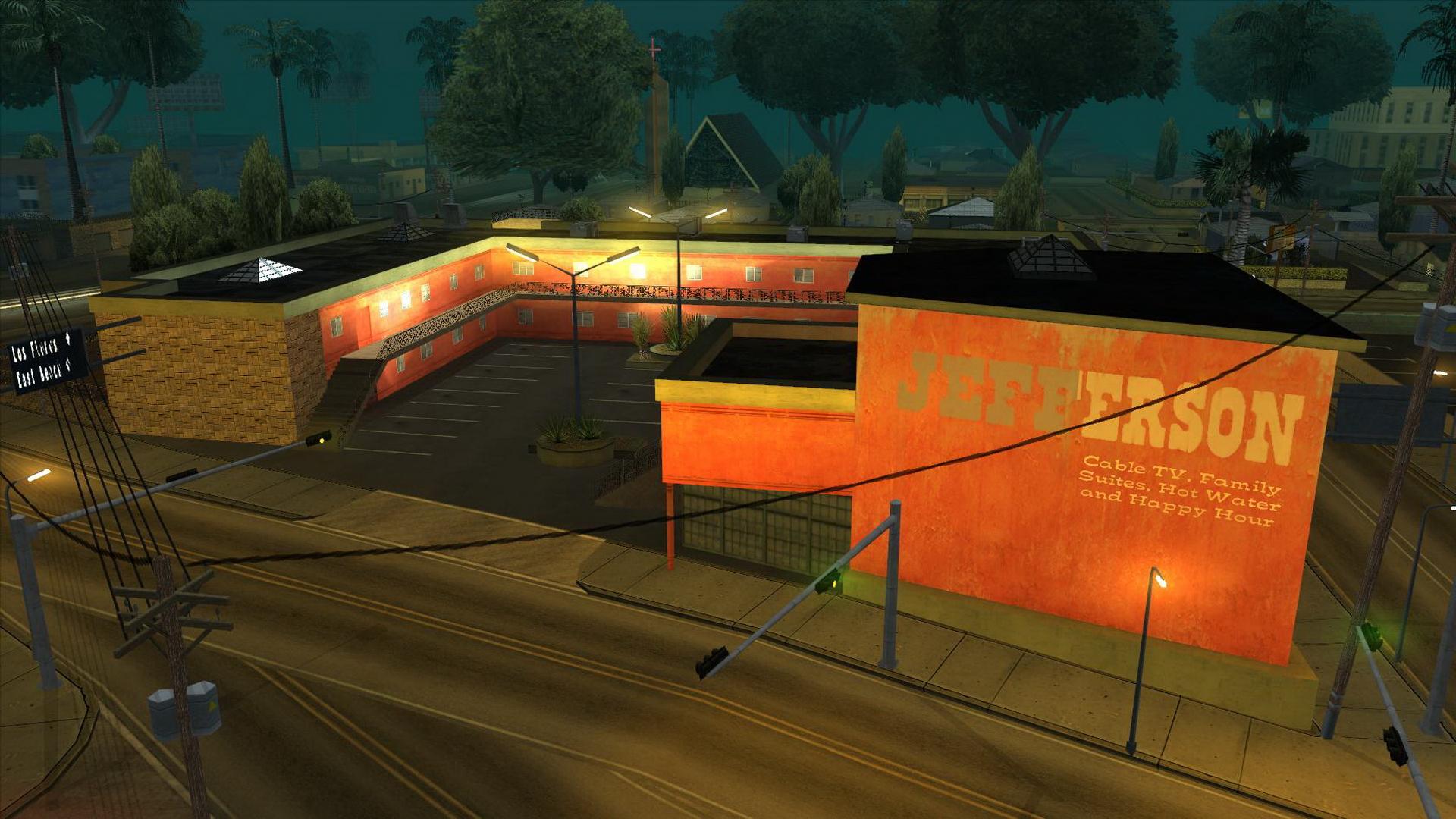 Motel jefferson GTA SA (no son los cuerpos colgados) parte 1