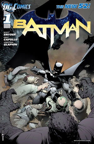 Cover for Batman #1 (2011)