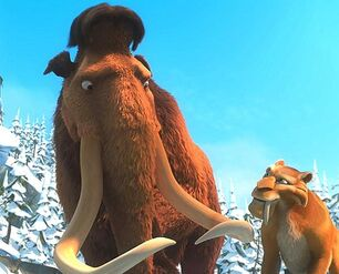 saber tooth tiger ice age  Ice Age: Dawn of