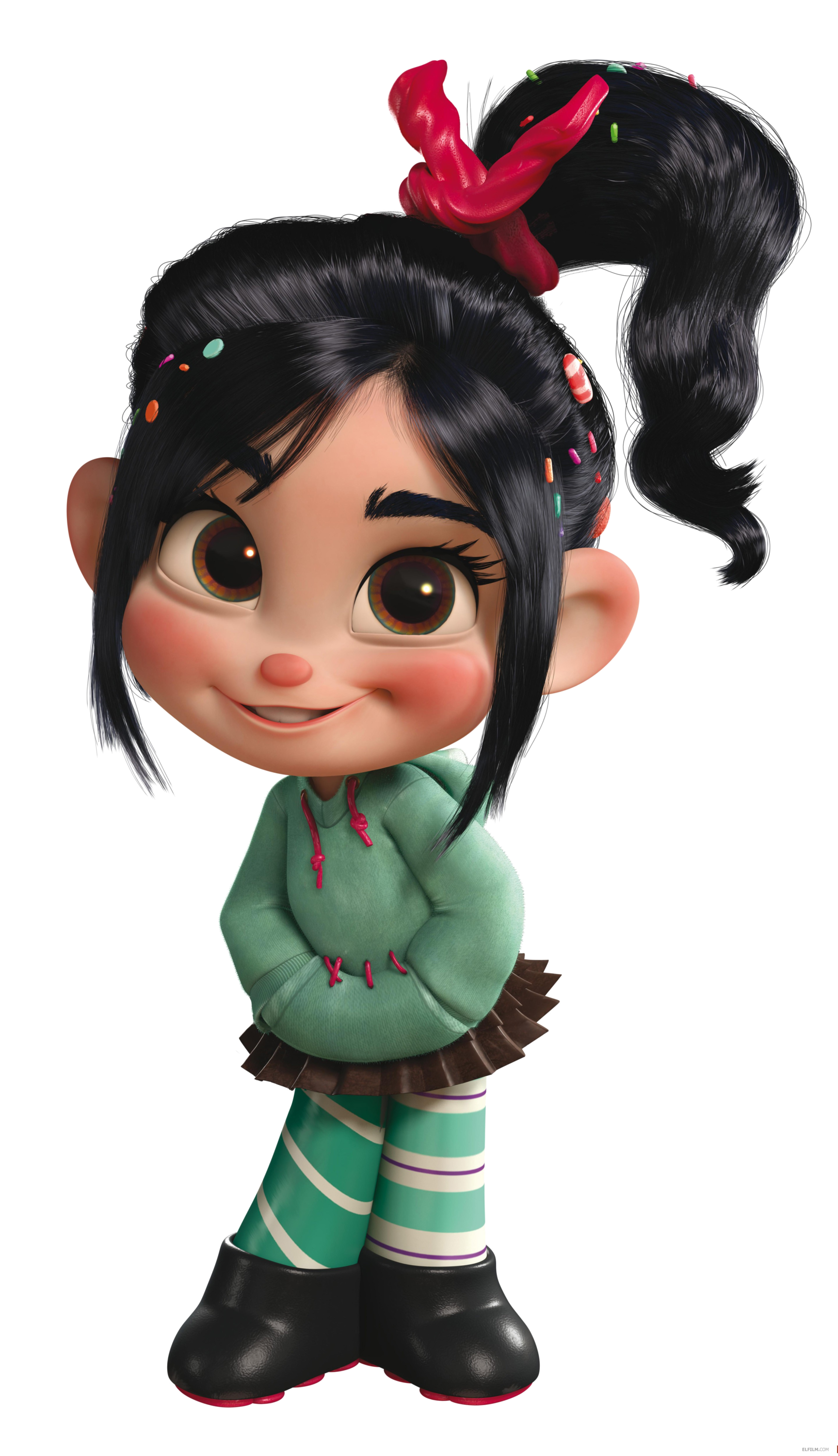 Vanellope von schweetz wreck it ralph wiki - Female cartoon characters wallpapers ...