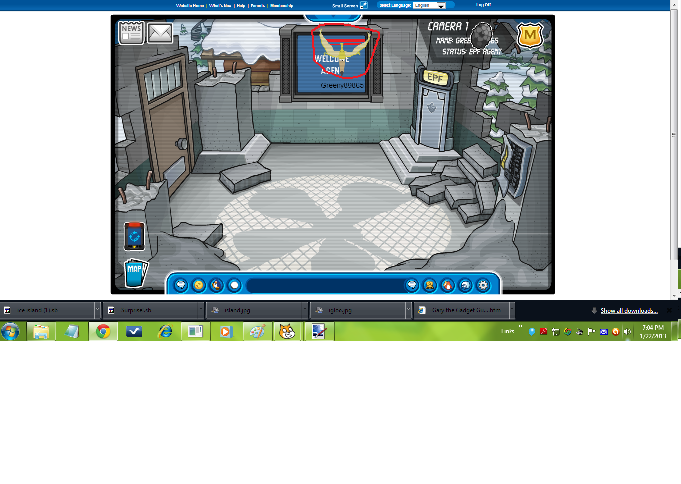 how to turn into a dinosaur on club penguin