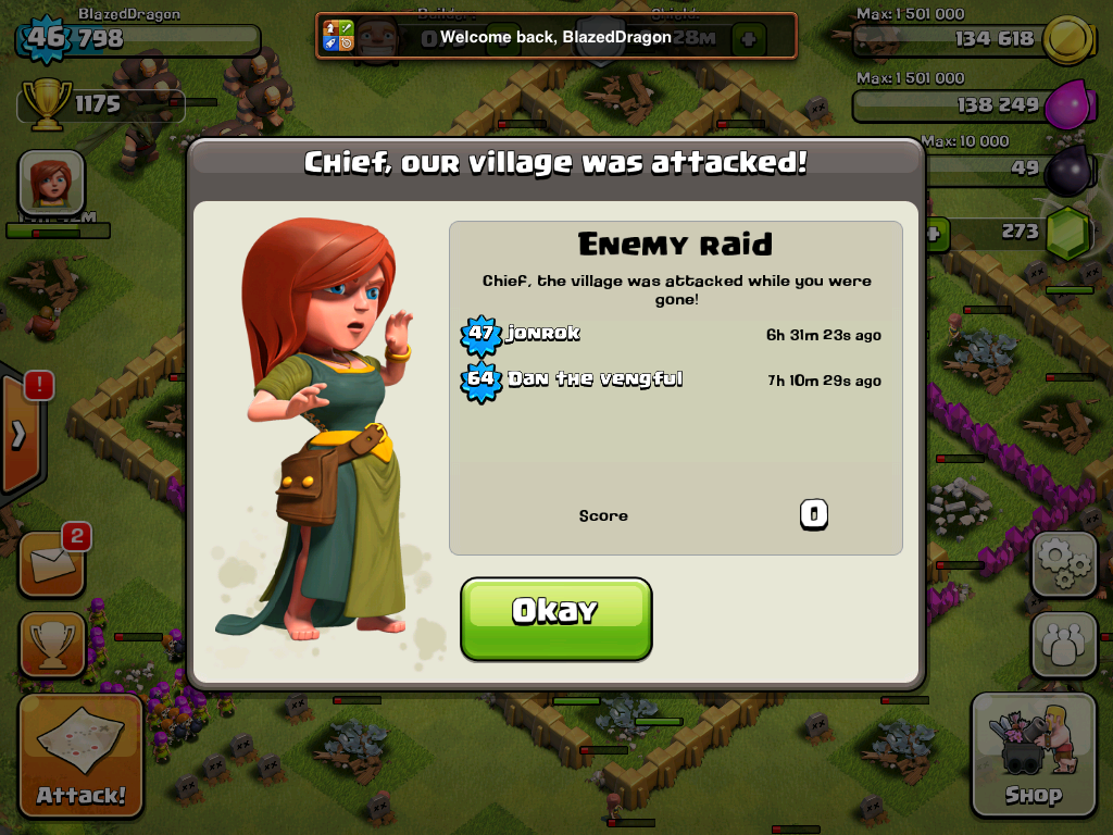 Level 6 Town Hall Defense
