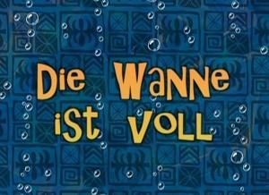 Lied Die Wanne Ist Voll