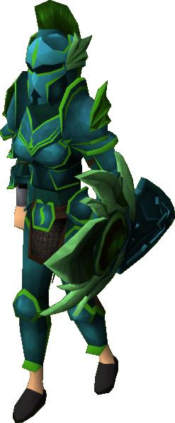 Runescape Guthix Armor Traffic Club