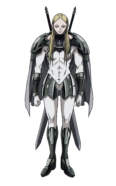 Undine claymore Anime, Manga