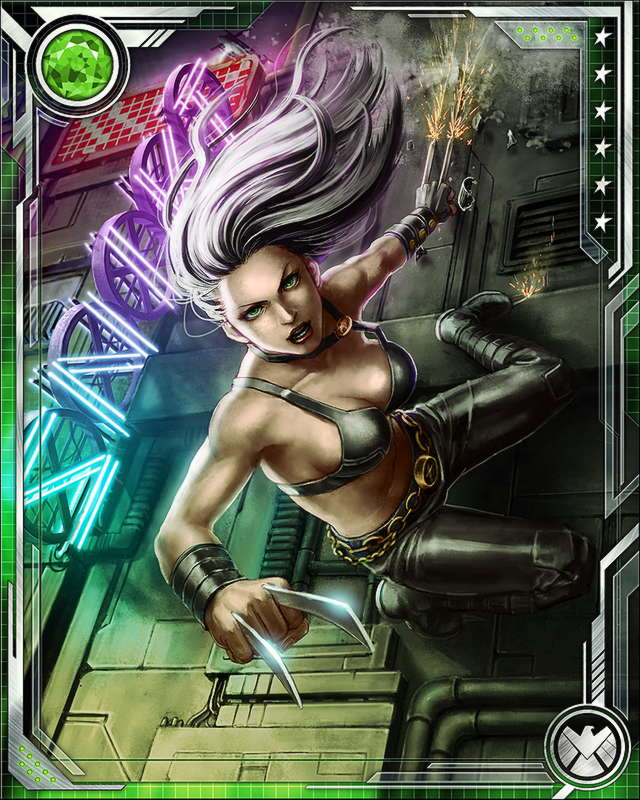 Maximum Card Level 70X23 Marvel Wiki