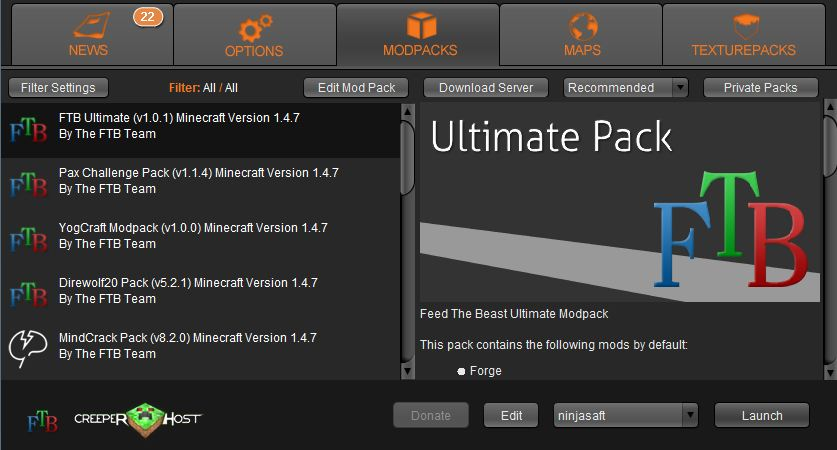 downloading fead the beast mod