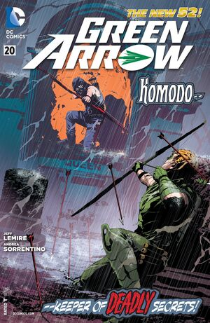 Cover for Green Arrow #20 (2013)