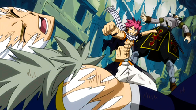 Image - Natsu vs Sting et Rogue.png - Fairy Tail Wiki