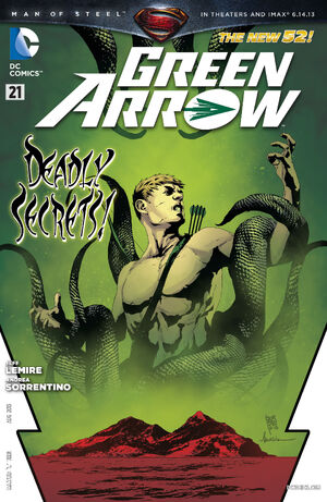 Cover for Green Arrow #21 (2013)