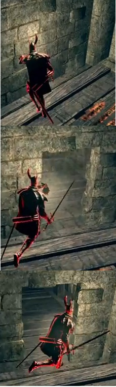 dark souls 1 how to wear heavy armour and roll