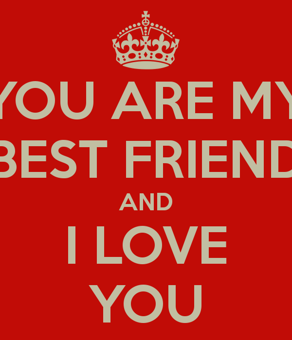 I Love You Bestfriend Quotes Custom I Love You As A Friend Quotes