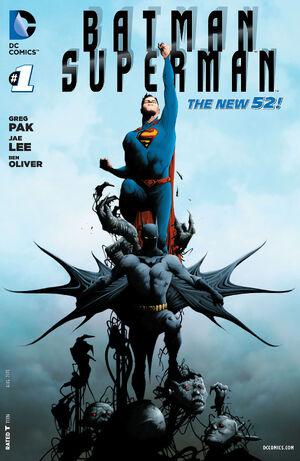 Cover for Batman/Superman #1 (2013)