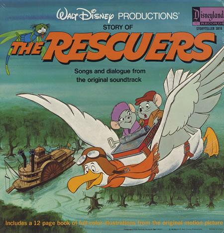 The Rescuers Soundtrack Disney Wiki