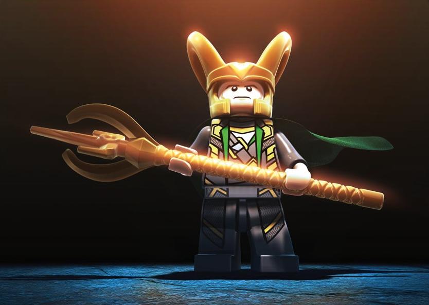Loki - LEGO Marvel Sup...