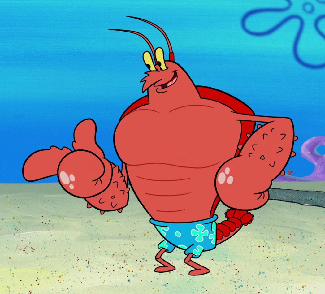 Larry the Lobster - Encyclopedia SpongeBobia - The SpongeBob SquarePants Wiki