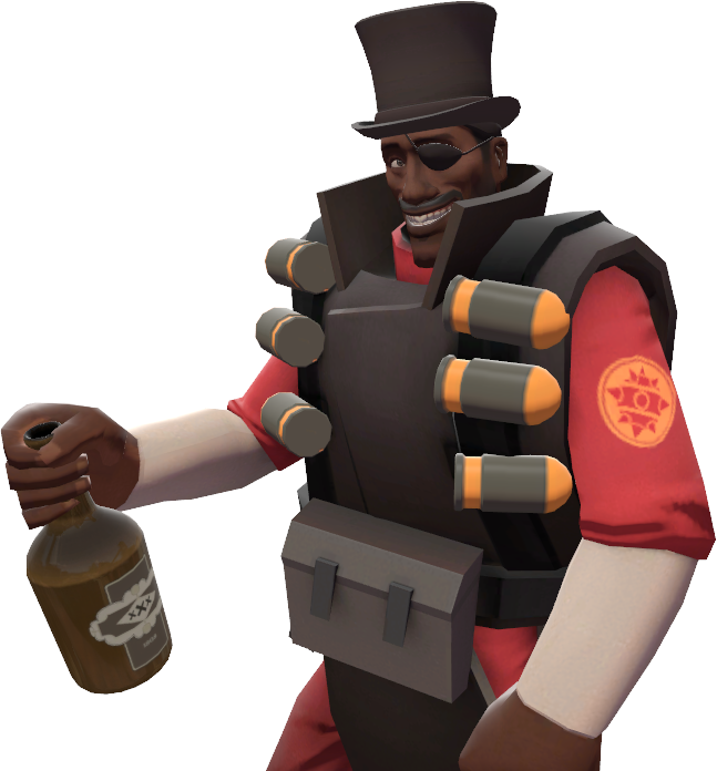 meet the demoman what is bleeped out