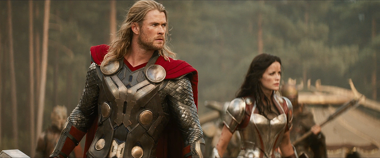 Image - Thor The Dark World Thor and Sif.png - Marvel ...