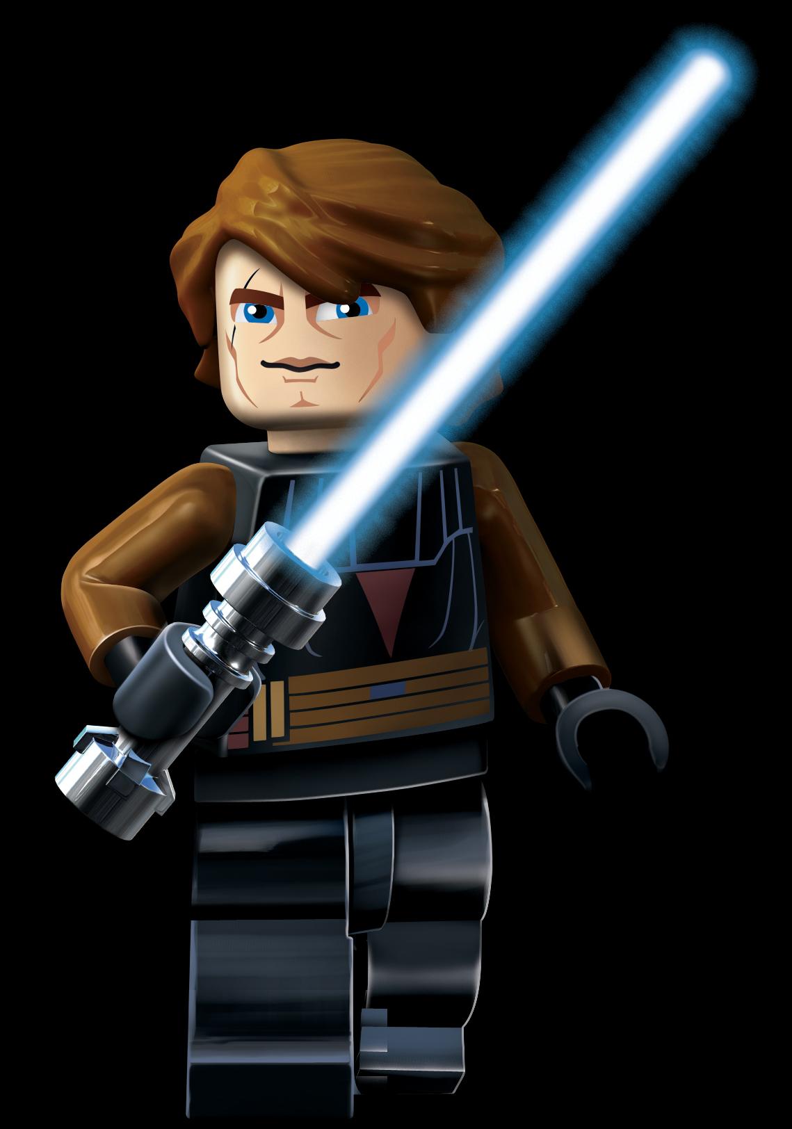 Blue eyes - Lego star wars anakin ghost ...