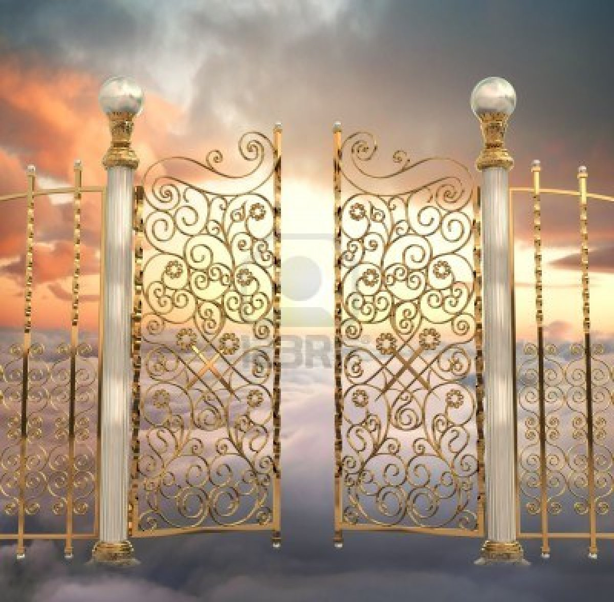 Golden Gateway To Heaven
