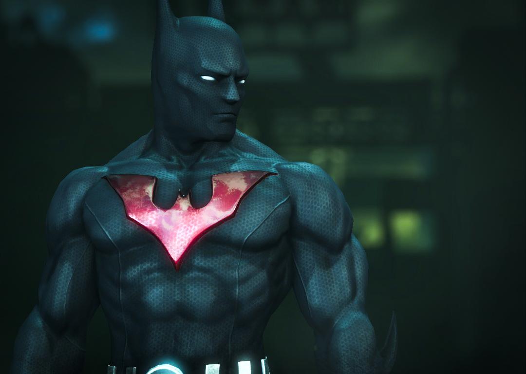 Batman Arkham City - Easter Egg #9 - The Cancelled Flying ...   Batman Arkham City Batman Beyond Flying