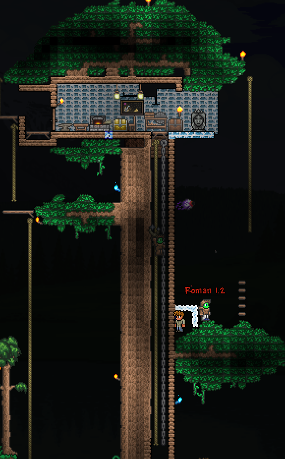 Living Wood Terraria Wiki