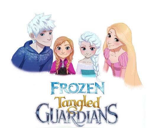 Frozen Tangled GuardiansFrozen Tangled Brave