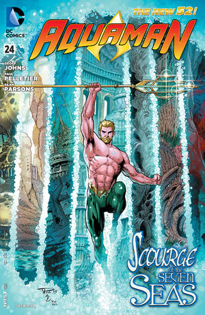 Cover for Aquaman #24 (2013)