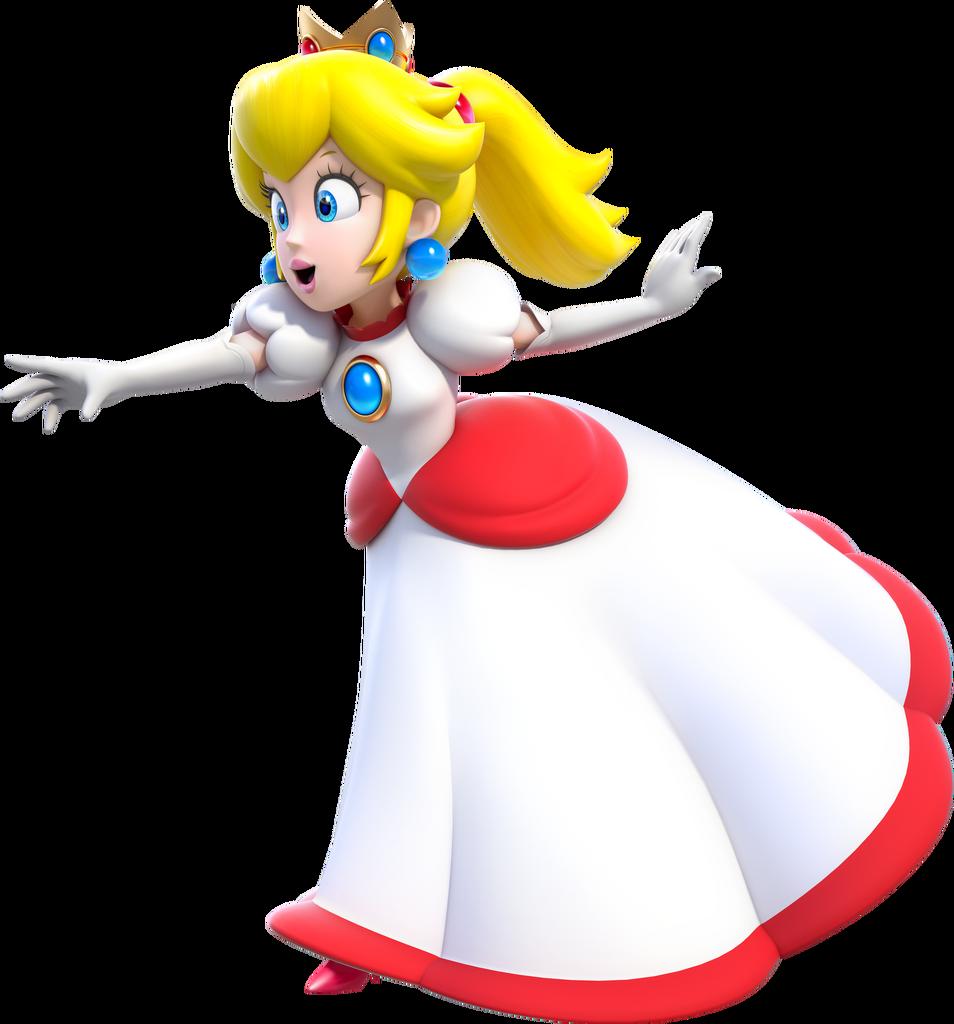 Image - Fire Princess Peach Artwork (alt) - Super Mario 3D ...