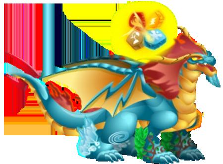 dragones relaciondos tierra flamigero azteca granito favorito de deus