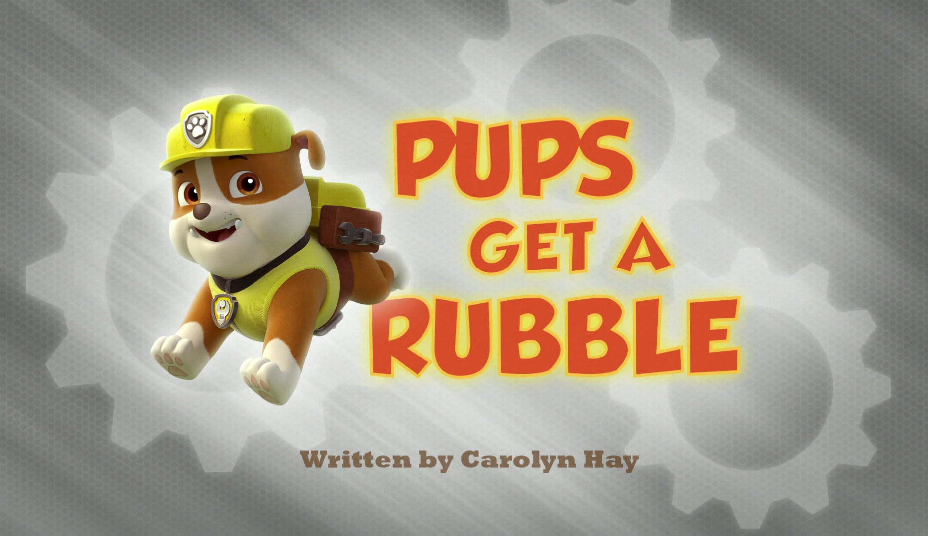 Get a Rubble PAW Patrol Pups