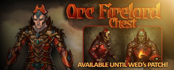 Scroller orc firelord chest