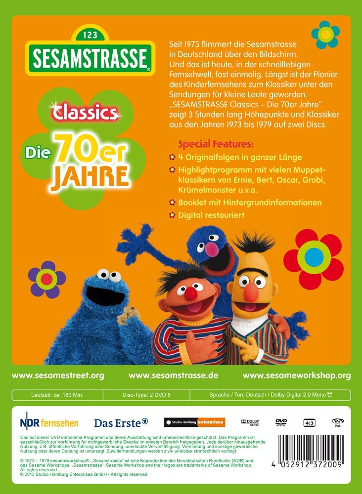 sesamstrasse classics die 70er jahre muppet wiki. Black Bedroom Furniture Sets. Home Design Ideas