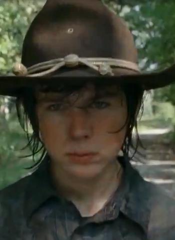 69 Days Till The Walking Dead Season 4 Episode 9 – Day 4 | blastzone ...  Walking Dead Carl