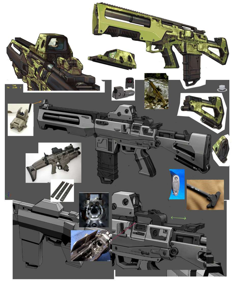 보더랜드: The pre-Sequel/무기 및 장비 - 우만위키