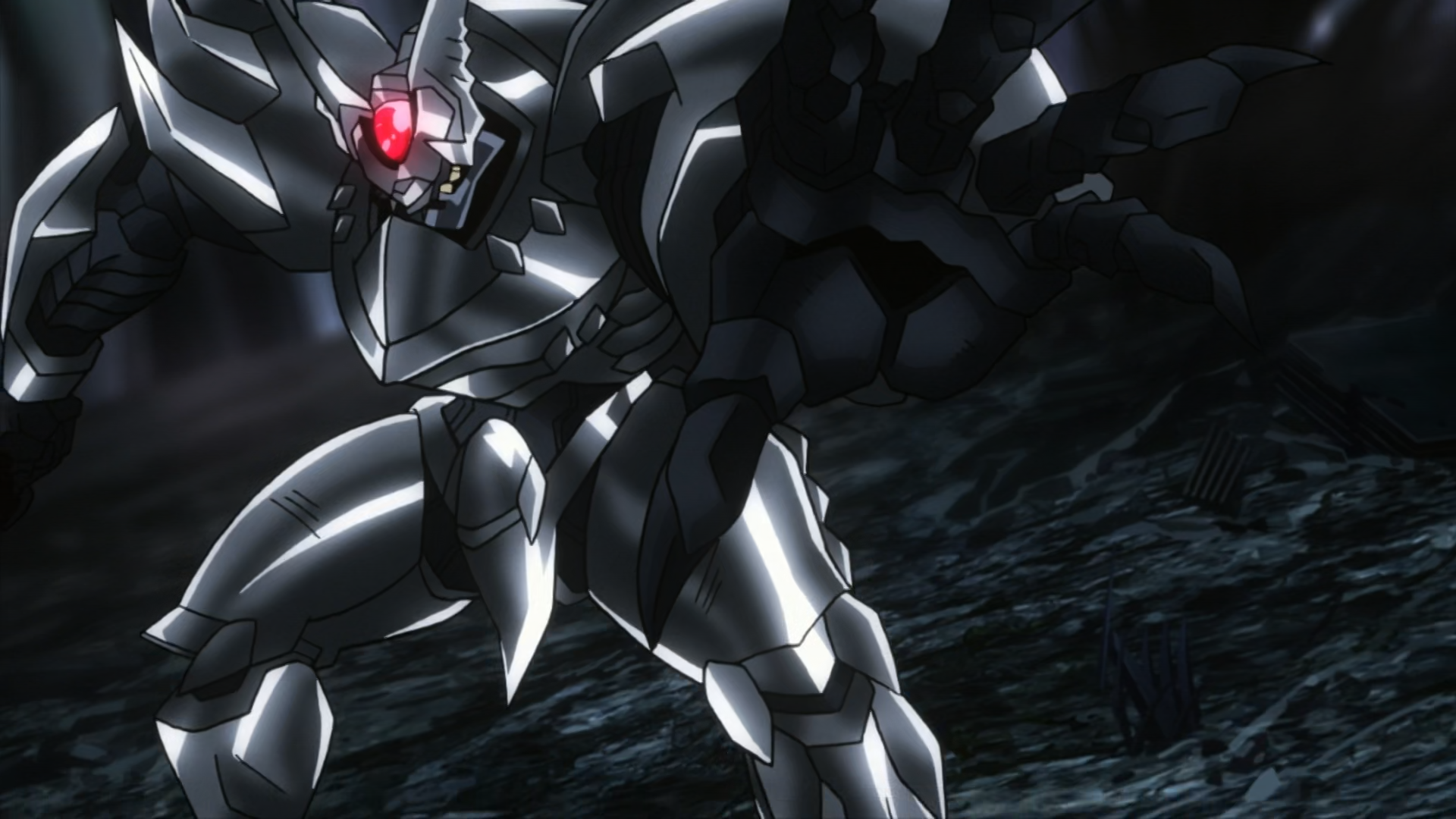 Accel World Silver Crow Chrome Disaster