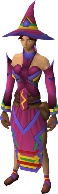 Robes are a set of magic armour that are rewards from the mage