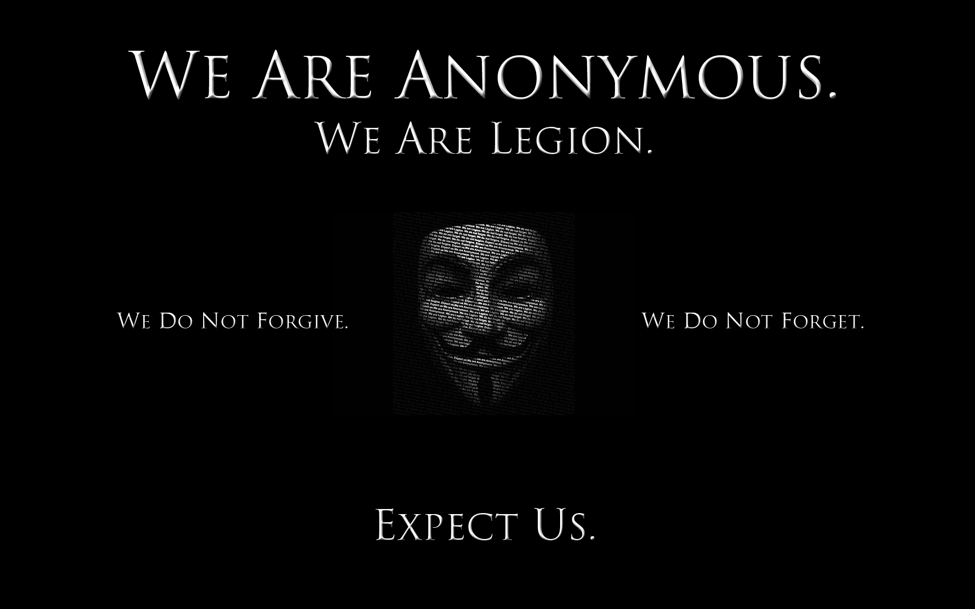 Let Us Declare War On Anonymous