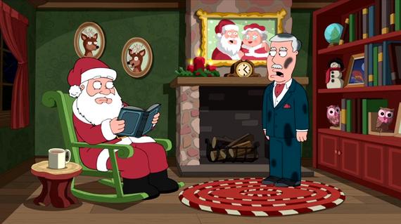Family Guy Season 12 Episode 8 Christmas Guy