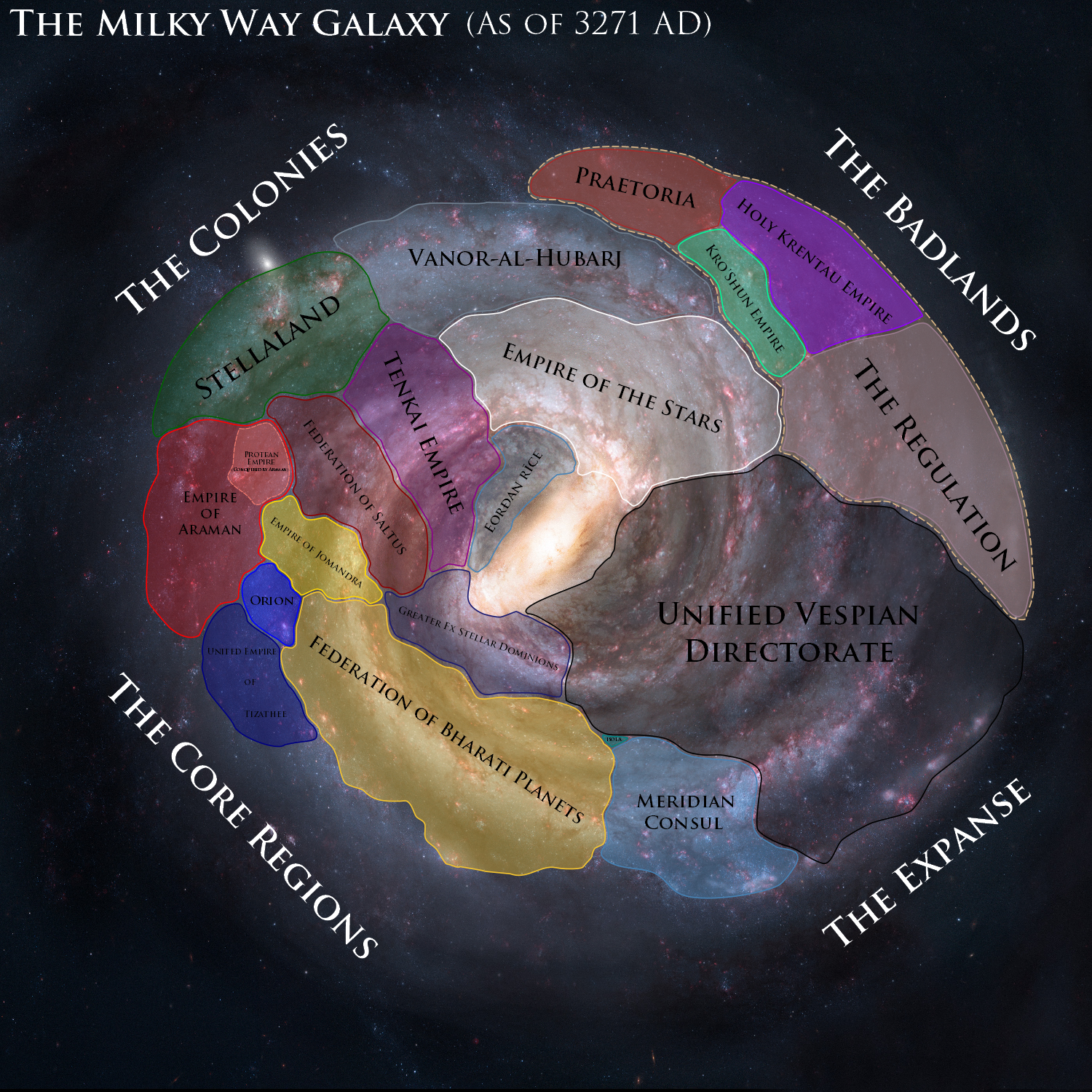 map of known galaxies - photo #10