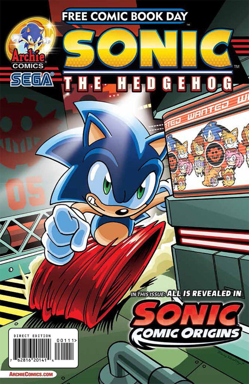 archie sonic the hedgehog free comic book day 2014   sonic